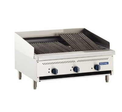 Royal Range RIBT-36 LP 36-in Countertop Infrared Broiler w/ Thermostatic Control, Stainless S