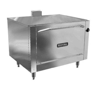 Royal Range RR-36-LB-C NG Single Multi Purpose Deck Oven, NG