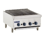 Royal Range RRB-24 LP 24-in Countertop Radiant Char Broiler w/ Manual Controls & Pilot, LP