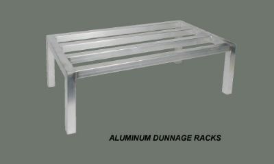 Winco ADRK-2060 Tubular Dunnage Rack, 20 in x