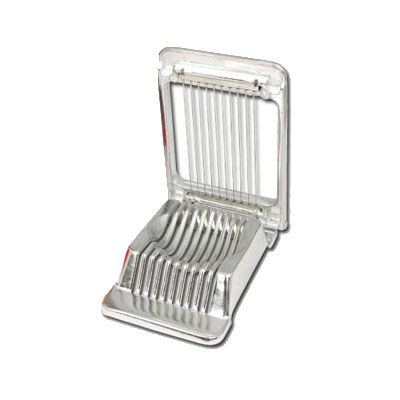 Winco AES-4 Square Egg Slicer w/ Color Box, Aluminum