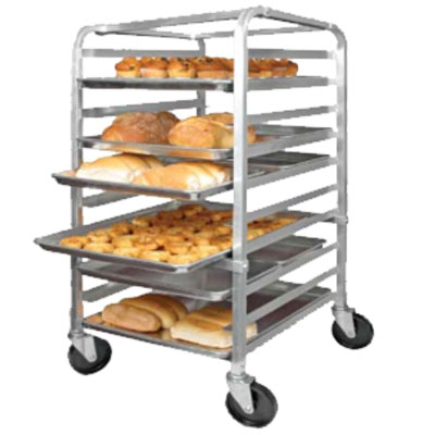 Winco ALRK-10BK Heavy Duty Bun Rack w/ B
