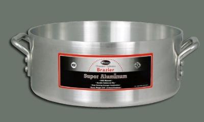 Winco AXBZ-15 15 qt Aluminum Brazier