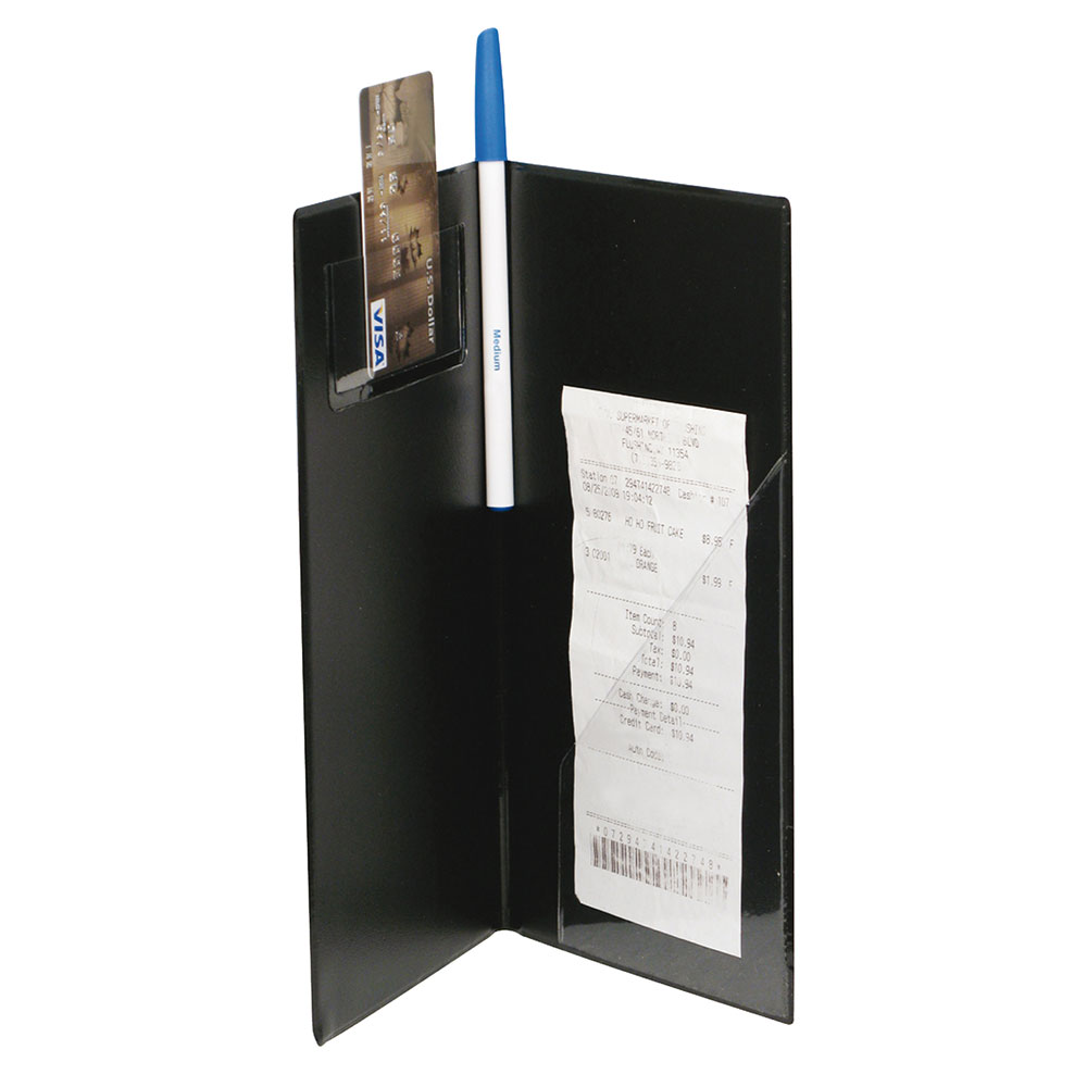 Winco CHK-1K Check Holder, 10 in x 5.5 in x .5 in