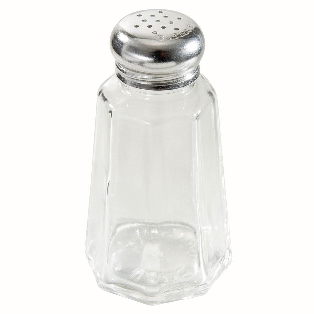 Winco G-106 Salt & Pepper Shaker, 2 oz, Pan