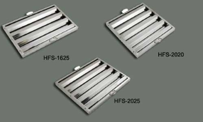 Winco HFS2016 Hood Filter, 20 W x 16 H x 1.5-in Depth, Stainless