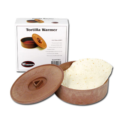 Winco PTW-8 Tortilla Warmer, 8-1/2 in D x 2-5/8 in H