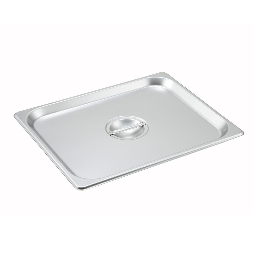 Winco SPSCH Half-Sized Steam Pan Cover, Stainless