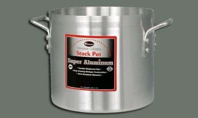 Winco AXS-32 32-qt Stock Pot, Aluminum