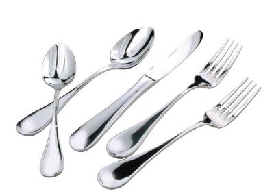 Winco 0037-10 Tablespoon Extra Heavy 18/8 Stainless Steel Venice Design Restaurant Supply