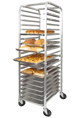 Winco ALRK-20 69-in Sheet Pan Rack w/ 20-Pan Capacity, Aluminum