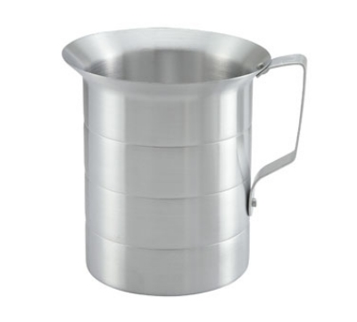 Winco AM-4 4-qt Measuring Cup, Aluminum