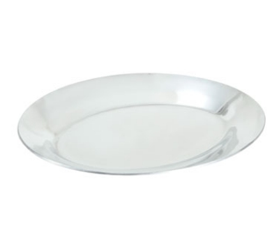 Winco APL-11 11-in Oval Sizzling Platter, Aluminum