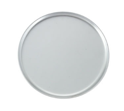 Winco APZC-8 8-in Round Coupe Pizza Pan, Aluminum