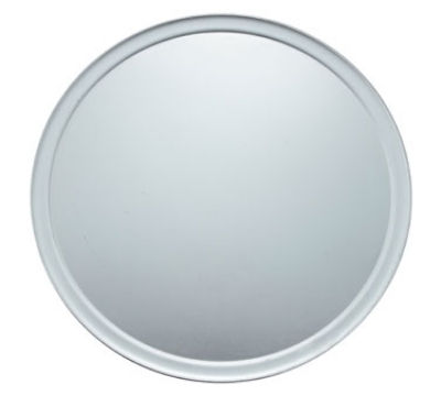 Winco APZT-18 18-in Round Wide Rim Pizza Pan, Aluminum