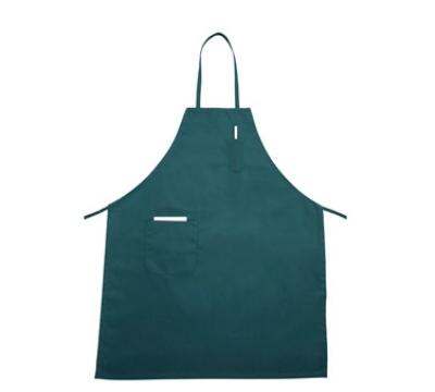 Winco BA-PGN Bib Apron w/ Pocket, Green
