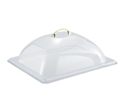 Winco C-DP2 Half Size Dome Cover, Polycarbonate