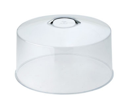 Winco CKS-13C 12-in Round Cake Stand Cover, Acrylic