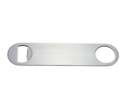 Winco CO-301 7-in Flat Bottle Opener, Stainless