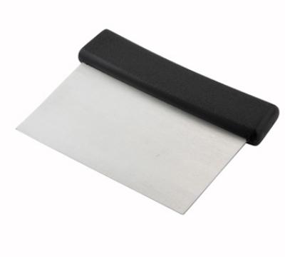 Winco DSC2 Dough Scraper w/ Plastic Handle