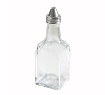 Winco G-104 6-oz Glass Oil & Vinegar Cruet