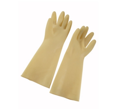 "Winco NLG-816 Natural Latex Gloves, 8.5 x 16"", Ivo"