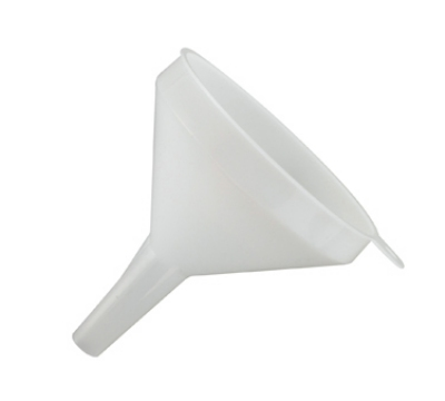 Winco PF-8 8-oz Plastic Funnel, 4-in