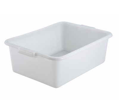 Winco PL-7W 7-in Plastic Dis