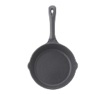 Winco RSK-6 6.5-in Cast Iron Skillet