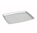 Winco SIZ-11B 11-in Oblong Sizzling Platter, Stainless