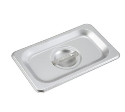 Winco SPSCN Ninth-Size Steam Pan Cover, Stainless