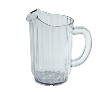 Winco WPC-60 60-oz Water Pitcher, Polycarbonate, Clear