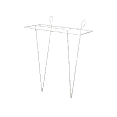 Winco WHW-7 Scoop Holder, 7 x 8 in, Plastic Coated Wire
