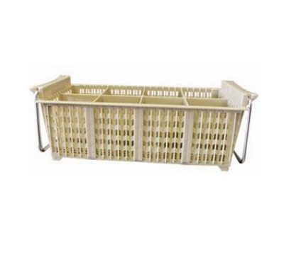 Winco PCB-8 8-Compartment Cutlery Basket w/ Handle, 17