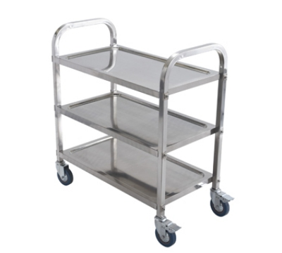 Winco SUC30 3-Tier Trolley, 30 x 16 x 32-in, Stainless