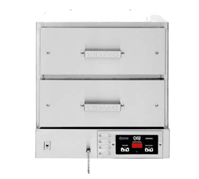 Winston Industries HBB0D2 Hold & Serve Drawer - (2)Electronic Controls, (2) Drawer, Stainless, 120v