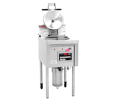 Winston Industries LP46 Compact Pressure Fryer - 12-lb Product/64-lb Oil Capacity, Stainless, 240/1v