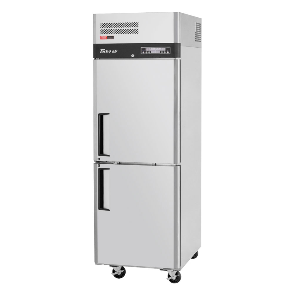Turbo Air JRF-19 Top Mount Refrigerator Freezer - 1-Section, 2-Doors, Stainless, 9.3-cu ft