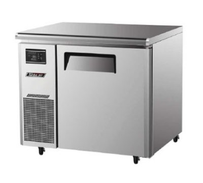 Turbo Air JUF-36 1-Section Undercounter Freezer w/ Door & Shelves, 7-c