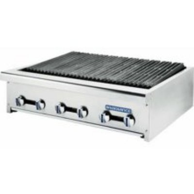 Turbo Air TARB-24 LP 24-in Countertop Charbroiler w/ Manual Controls, LP