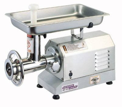 Turbo Air GG-22 Gear Driven Meat Grinder, 660-lb Capacity, 1-1/2-HP