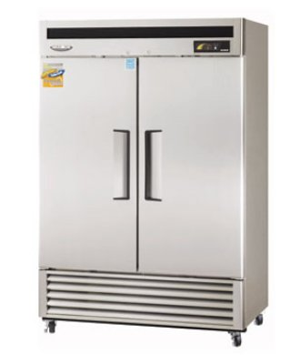 Turbo Air MSR-49NM Reach In Refrigerator w/ Self-Closing Solid Doors, 49-cu ft