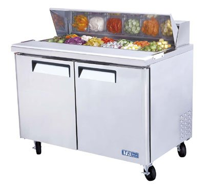 Turbo Air MST-48 Sandwich/ Salad Unit w/ (12) 1/6-Size Pan Capacity, 12-cu ft