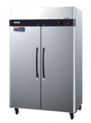 Turbo Air PRO-50R Reach In Stainless Refrigerator w/ 2-Solid Doors, 50-cu ft