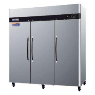 Turbo Air PRO-77R Reach In Stainless Refrigerator w/ 3-Solid Doors, 77-cu ft