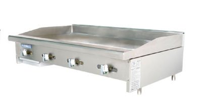 Turbo Air TAMG-48 NG 48-in Griddle w/ 3/4-in Steel Plate, Manual Controls, NG