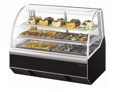 Turbo Air TB-5R Refrigerated Bakery Case w/ Stainless Floor, 18.7-cu ft