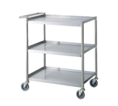 Turbo Air TBUS-1828E Economy Series Stainless Steel Utility Cart, 18 x 28-in