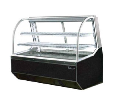 Turbo Air TD-4R Curved Front Refrigerated Deli Case, 47.4-in Wide