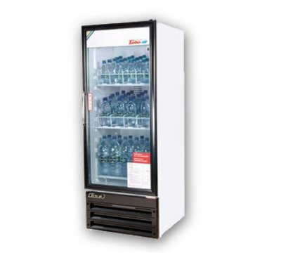 "Turbo Air TGM-11RV 23.62"" One-Section Refrigerated Display w/ Swing Door, Bottom Mount Compr"